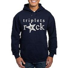Triplets Rock Hoodie