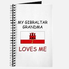 My Gibraltar Grandma Loves Me Journal