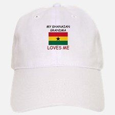 My Ghanaian Grandma Loves Me Baseball Baseball Cap