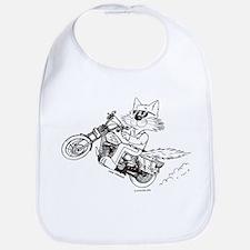 Motorcycle Cat Bib