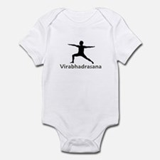 Virabhadrasana Infant Bodysuit