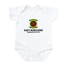 Cute Marine baby Infant Bodysuit