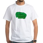 Choppin' Broccoli White T-Shirt