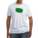Choppin' Broccoli Fitted T-Shirt