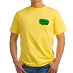 Choppin' Broccoli Yellow T-Shirt