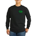 Choppin' Broccoli Long Sleeve Dark T-Shirt
