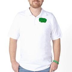 Choppin' Broccoli Golf Shirt
