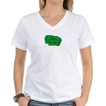 Choppin' Broccoli Women's V-Neck T-Shirt