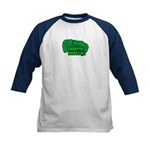 Choppin' Broccoli Kids Baseball Jersey