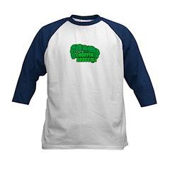 Choppin' Broccoli Kids Baseball Jersey