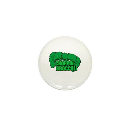 Choppin' Broccoli Mini Button (10 pack)