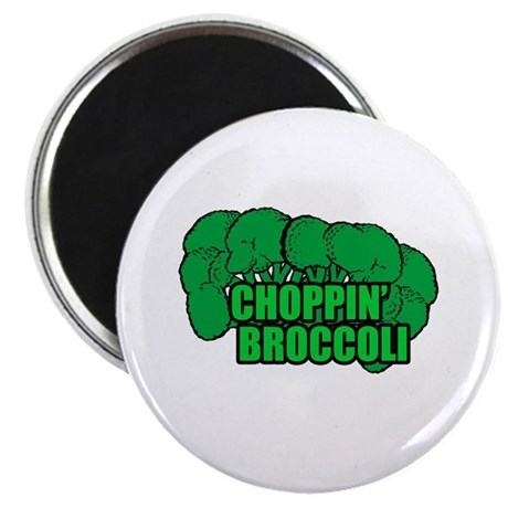 Choppin' Broccoli Magnet