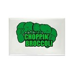 Choppin' Broccoli Rectangle Magnet (10 pack)
