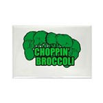 Choppin' Broccoli Rectangle Magnet (100 pack)
