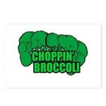 Choppin' Broccoli Postcards (Package of 8)