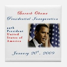Presidential inauguration 2009 Tile Coaster