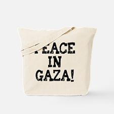 Peace in Gaza Tote Bag
