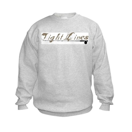Tight Lines Fishing Kids Sweatshirt