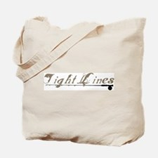 Tight Lines Fishing Tote Bag