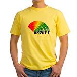 Groovy Rainbow Yellow T-Shirt