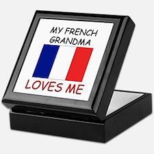 My French Grandma Loves Me Keepsake Box
