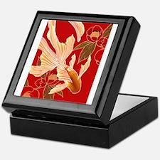 "Kimono Tradisional Design ""Goldfish"" Keepsake Box"