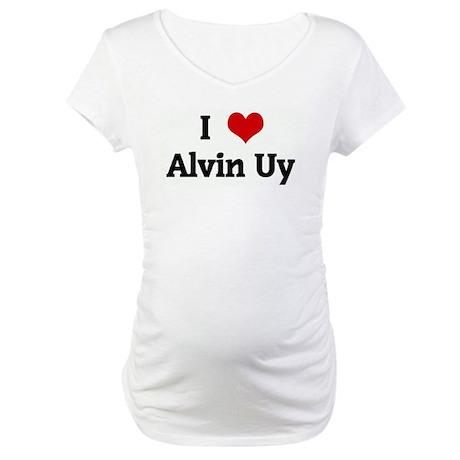 I Love Alvin Uy Maternity T-Shirt