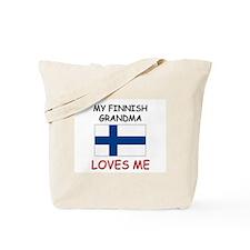 My Finnish Grandma Loves Me Tote Bag