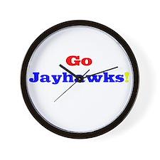 Go Jayhawks! Wall Clock