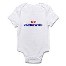 Go Jayhawks! Infant Bodysuit