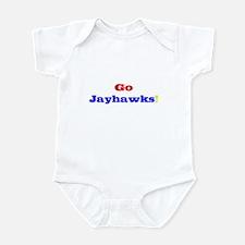 Go Jayhawks! Infant Bodysuit