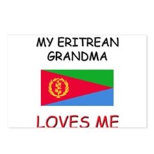 My Eritrean Grandma Loves Me Postcards (Package of