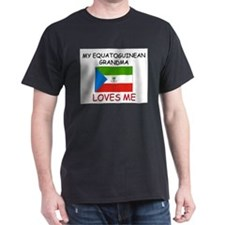 My Equatoguinean Grandma Loves Me T-Shirt