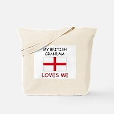 My British Grandma Loves Me Tote Bag