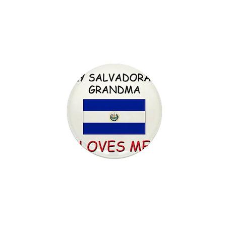 My Salvadoran Grandma Loves Me Mini Button