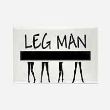 Riyah-Li Designs Leg Man Rectangle Magnet