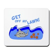 Get off of my lawn! Mousepad