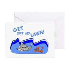 Get off of my lawn! Greeting Card