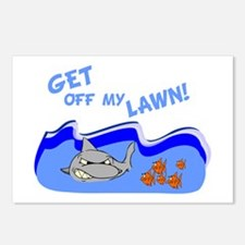 Get off of my lawn! Postcards (Package of 8)