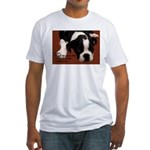 Bad Hangover Boston Terrier Fitted T-Shirt