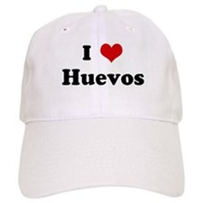 I Love Huevos Baseball Cap