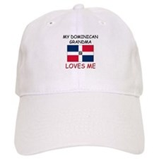 My Dominican Grandma Loves Me Baseball Cap