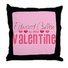 Edward Twilight Valentine Throw Pillow