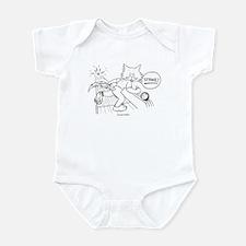 Bowling Cat Infant Bodysuit