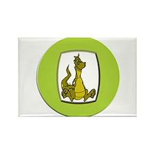 Kid's Dragon Rectangle Magnet (10 pack)