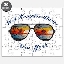 New York - West Hampton Dunes Puzzle