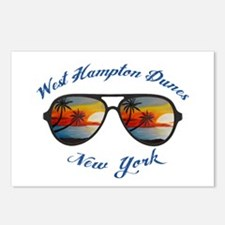 New York - West Hampton D Postcards (Package of 8)