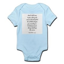 EXODUS  12:25 Infant Creeper
