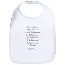 EXODUS  12:25 Bib