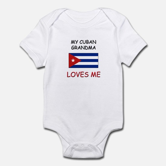 My Cuban Grandma Loves Me Infant Bodysuit